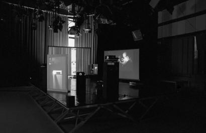 Workshop Alle haben alles gesehen Schlußpräsentation 1990  Gemeinsam mit  Michael Schuster  ORF-Zentrum Graz