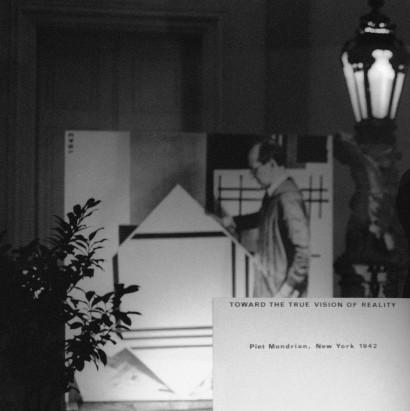 Monitor am Ausgang  Toward the True Vision of Reality 1976 Stück für Ausstellungsbesucher  Neue Galerie Graz