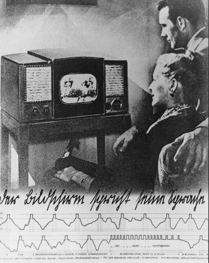 Der Bildschirm spricht  seine Sprache 1976 Ereignis  Poolerie Graz  Ausstellungsbeitrag Ausstellung: Konzepte, Theorien und Dokumenten österreichischer Videoproduktionen AVZ Graz 1977